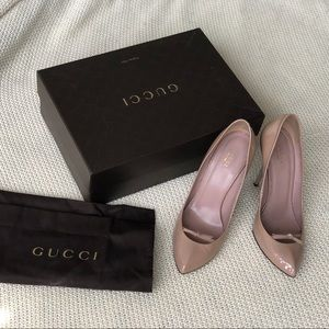 Gucci Beige Pumps 40